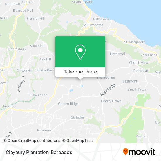 Claybury map