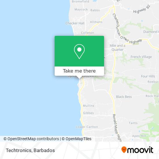 Techtronics map