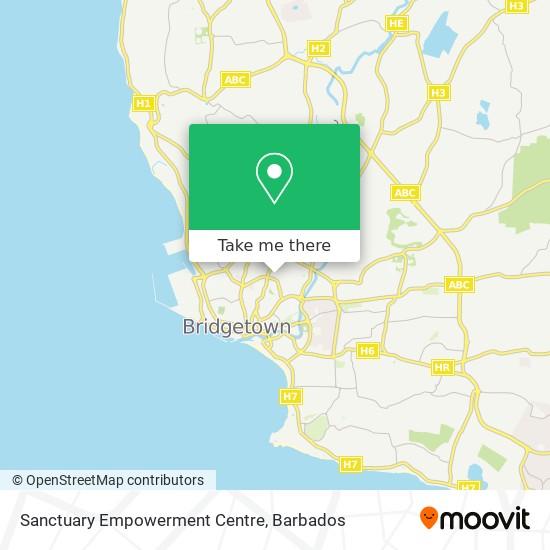 Sanctuary Empowerment Centre map