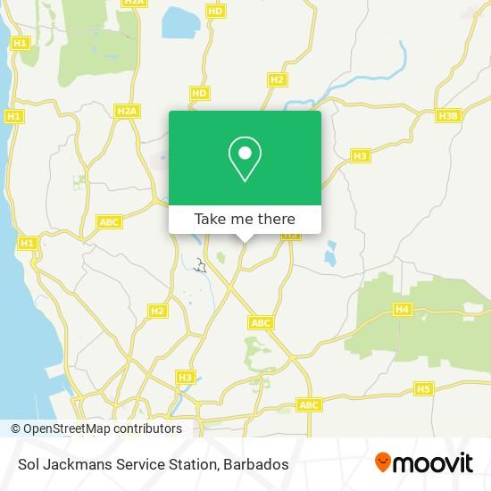 Sol Jackmans Service Station map