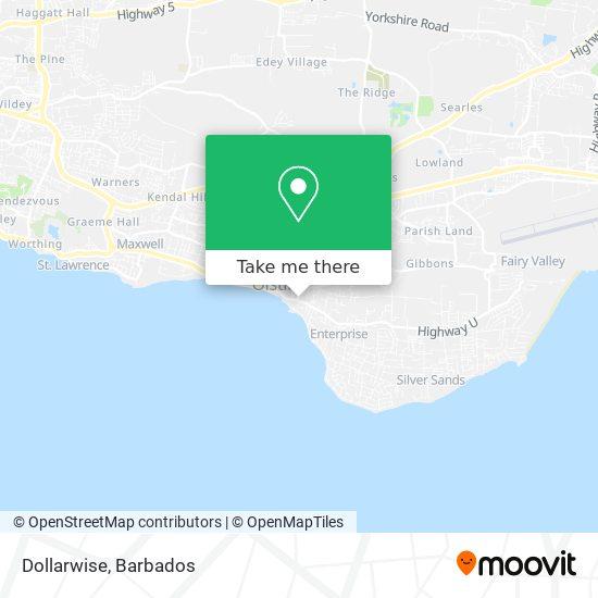 Dollarwise map