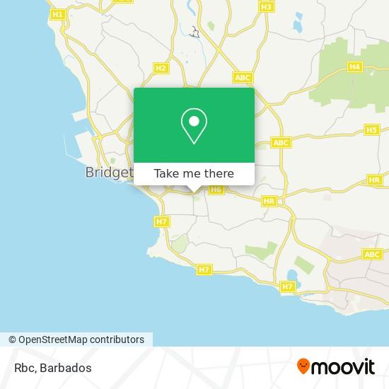 Rbc Royal Bank map