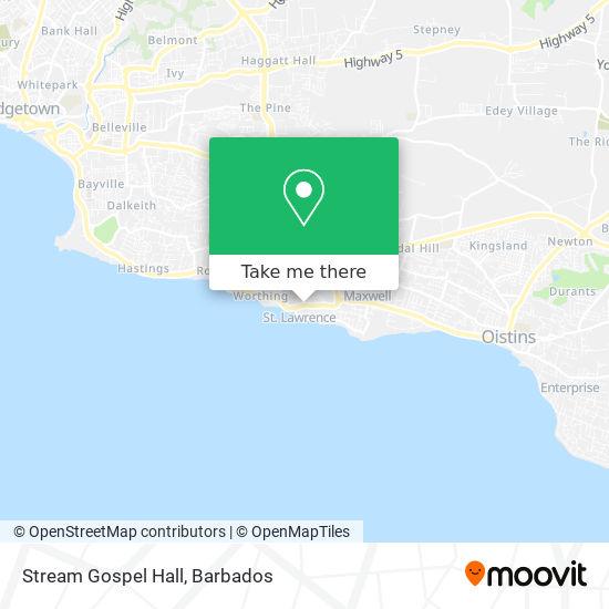 Stream Gospel Hall map