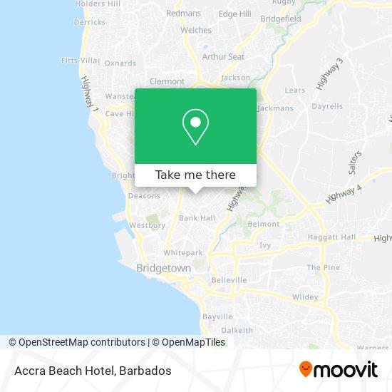 Accra Beach Hotel map
