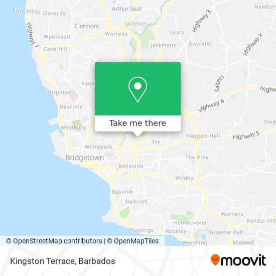 Kingston Terrace map