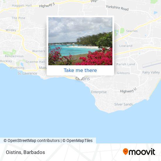 Oistins map
