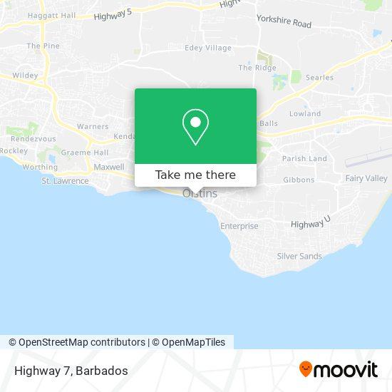 Highway 7 map