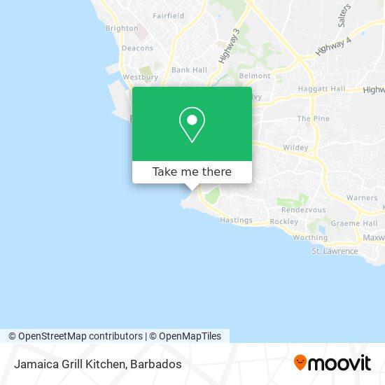 Jamaica Grill Kitchen map