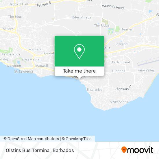 Oistins Bus Terminal map