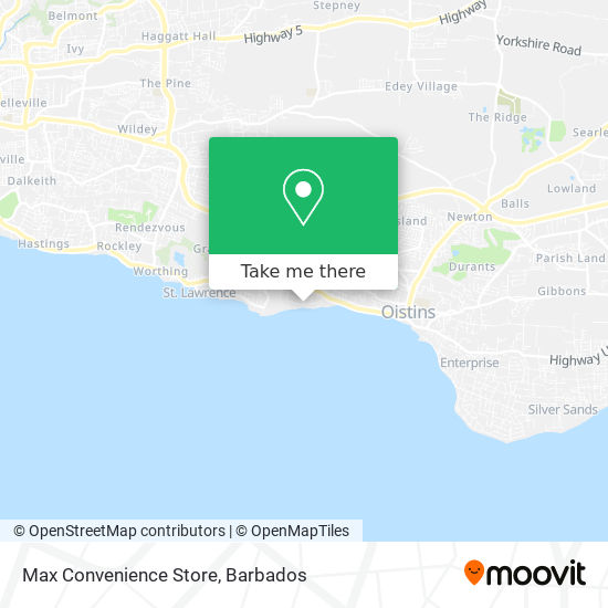 Max Convenience Store map