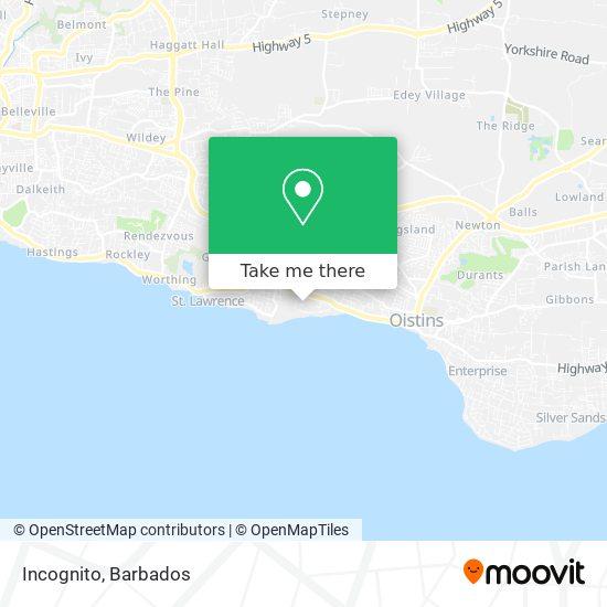 Incognito map