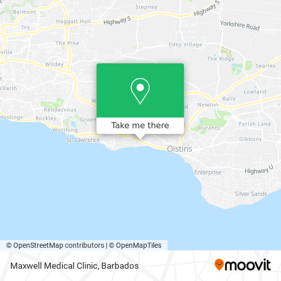 Maxwell Medical Clinic map