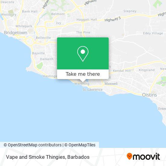 Vape and Smoke Thingies map