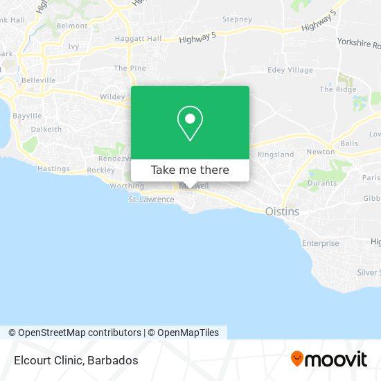 Elcourt Clinic map