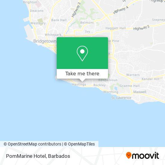 PomMarine Hotel map