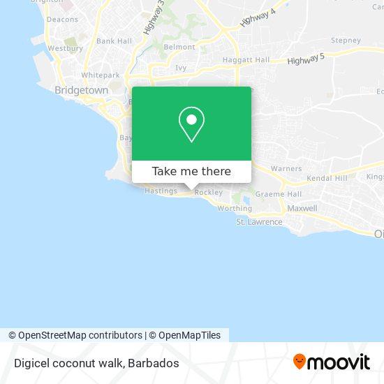 Digicel coconut walk map