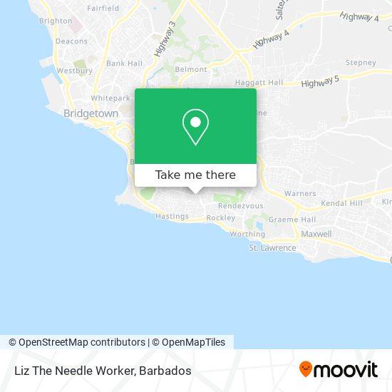 Liz The Needle Worker map