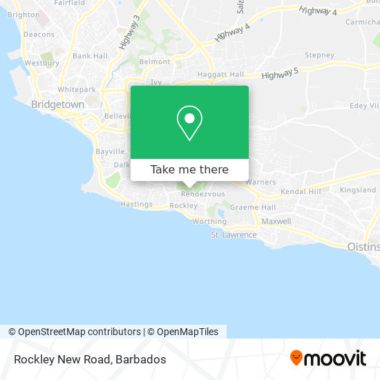 Rockley New Road map