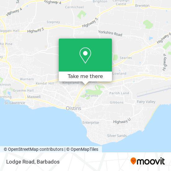 Lodge Road map