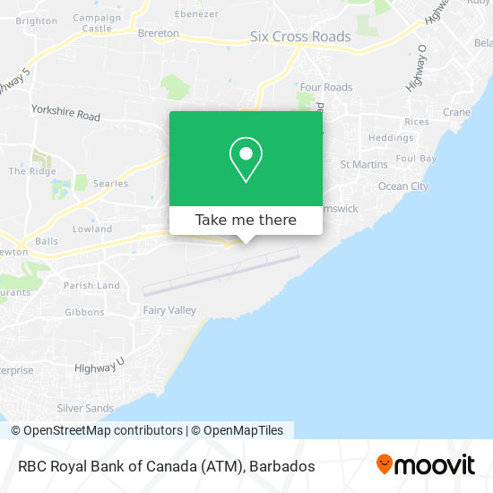 RBC Royal Bank of Canada (ATM) map