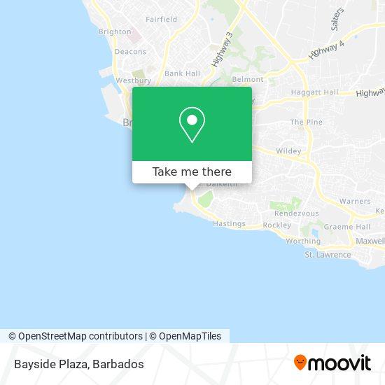Bayside Plaza map