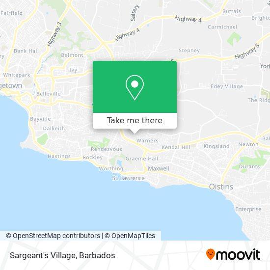 Sargeant's Village map