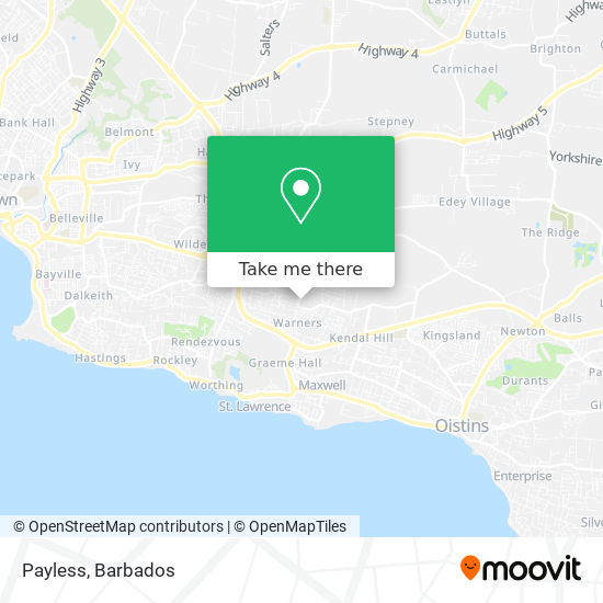 Payless map