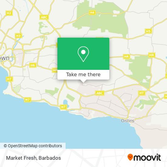 Market Fresh map