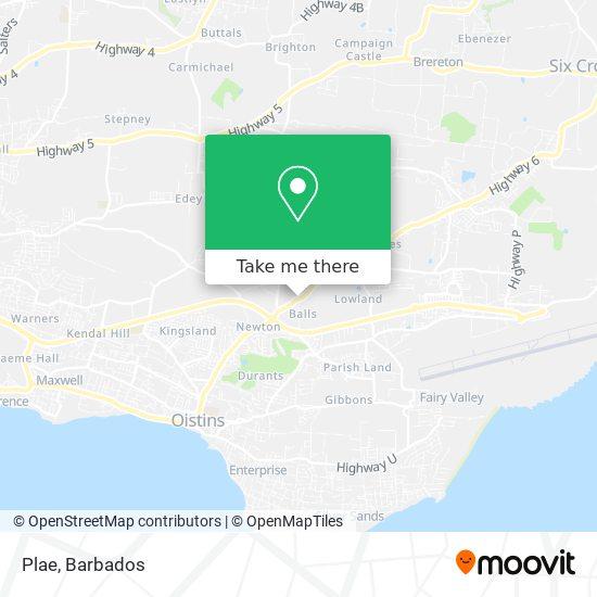 Plae map