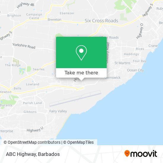 ABC Highway map