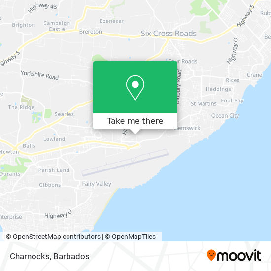 Charnocks map