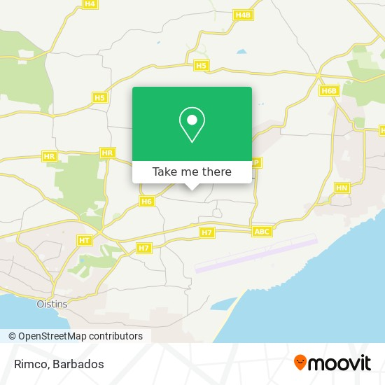 Rimco map