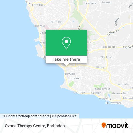 Ozone Therapy Centre map