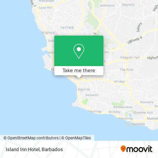 Island Inn Hotel map