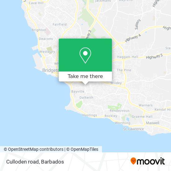 Culloden road map