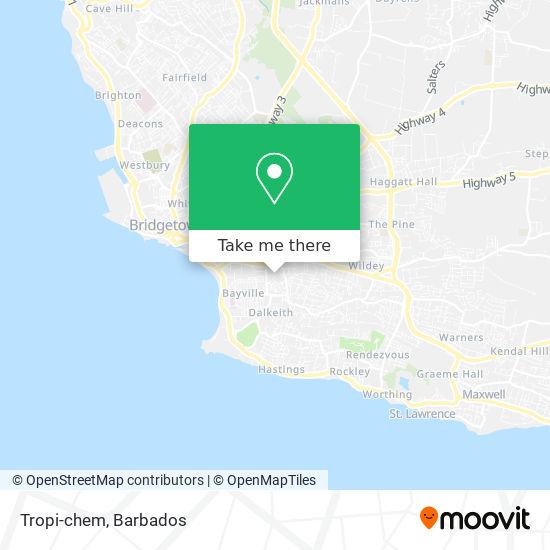 Tropi-chem map