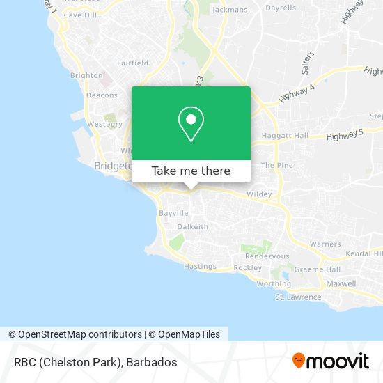 RBC (Chelston Park) map