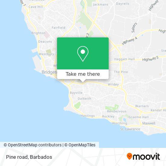 Pine road map