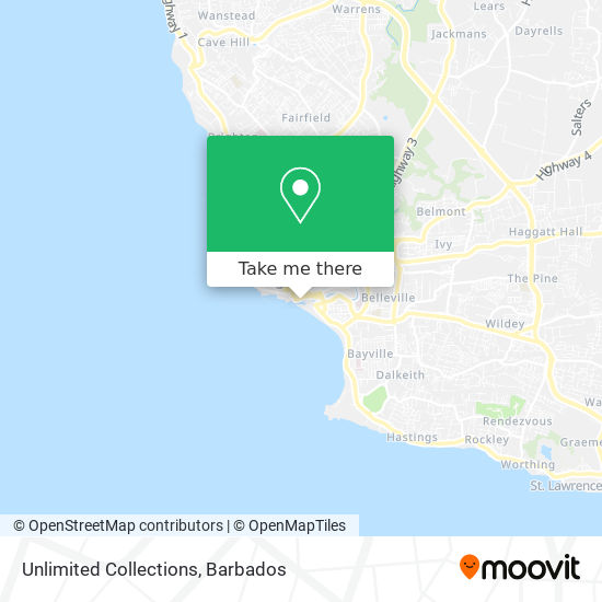 Unlimited Collections map