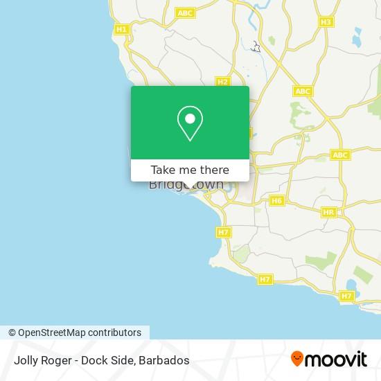Jolly Roger - Dock Side map