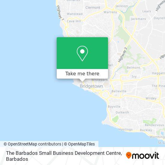 The Barbados Small Business Development Centre map