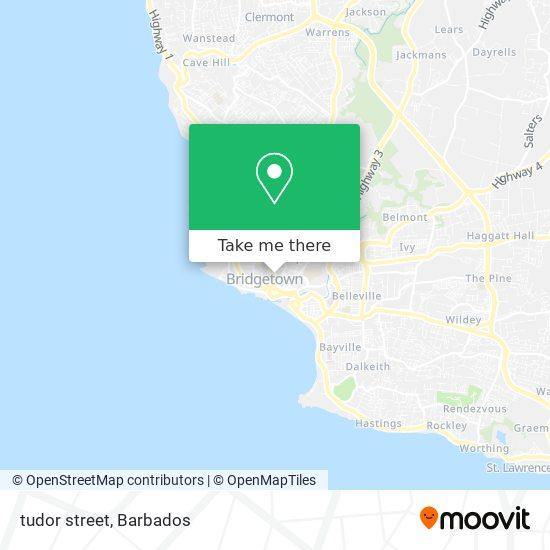 tudor street map