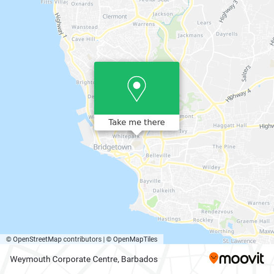 Weymouth Corporate Centre map