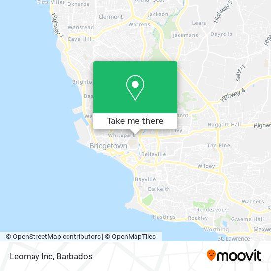 Leomay Inc map