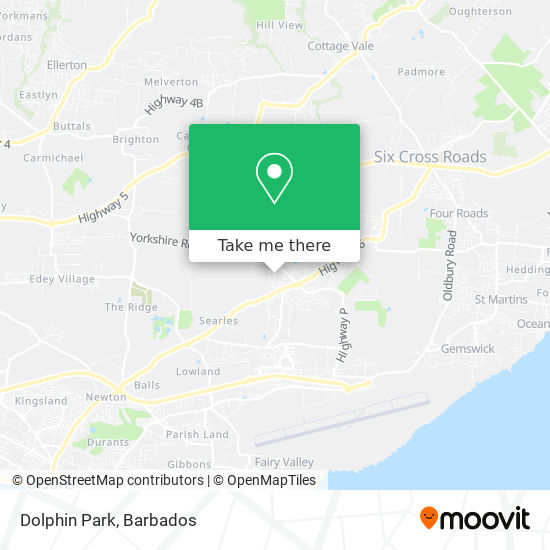 Dolphin Park map