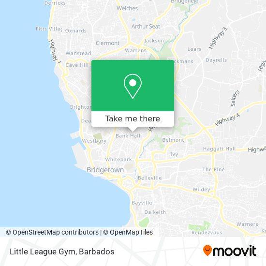 Little League Gym map