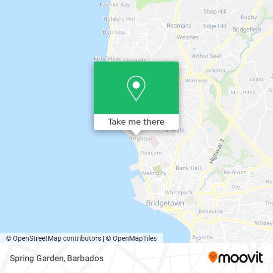 Spring Garden map