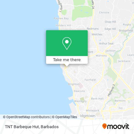 TNT Barbeque Hut map