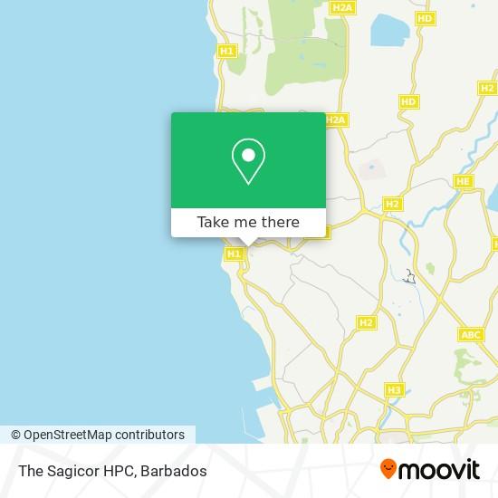 The Sagicor HPC map