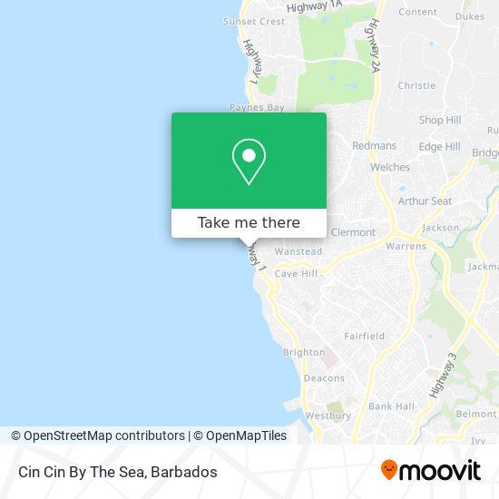 Cin Cin By The Sea map